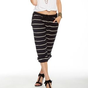 Chaser French Terry Slouchy Crop Pant